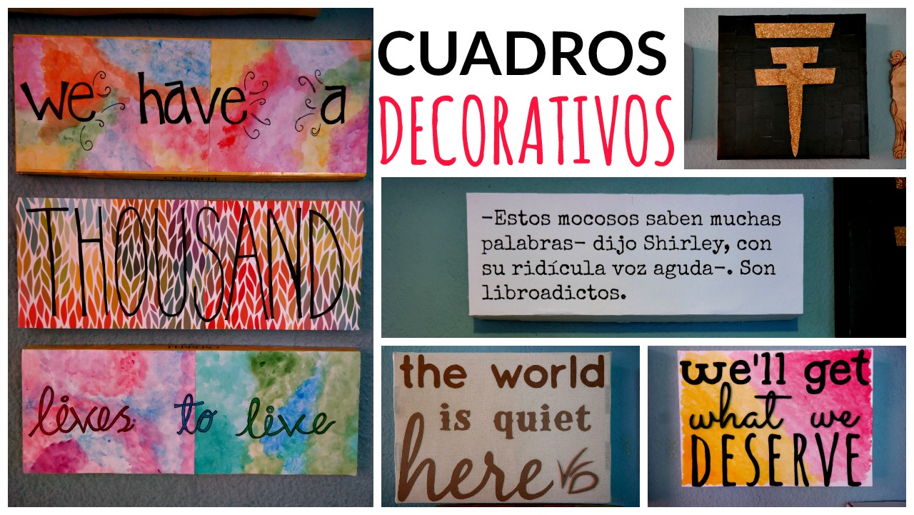 Ame may n cuadros decorativos con frases fotograf as for Cuadros de frases