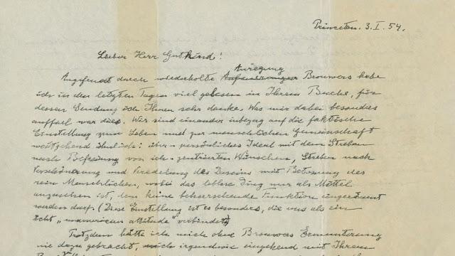 """La """"Carta de Dios"""" de Einstein es subastada por 2,8 millones de dólares"""
