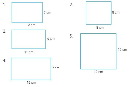 Kumpulan Soal Persegi Panjang dan Persegi Kelas 3 SD