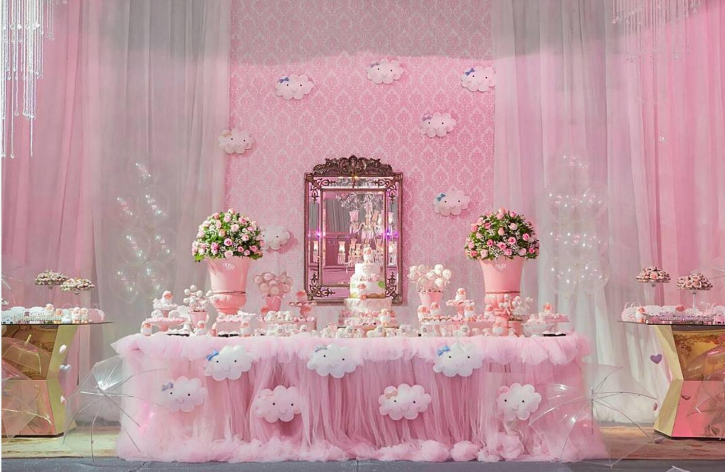 Baby shower de lluvia de amor for Fiesta baby shower decoracion