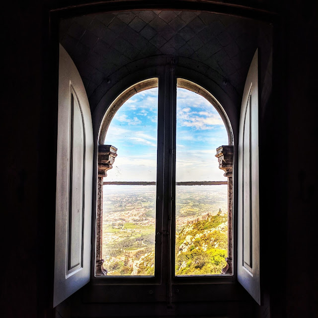 View from Pena Palace, photo credit: Lindsey Viscomi