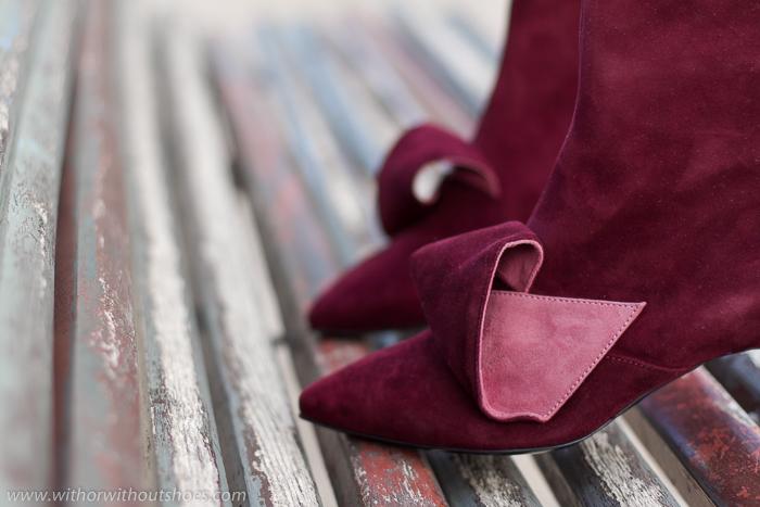 Blogger influencer Tendencias en Zapatos temporada otoño invierno