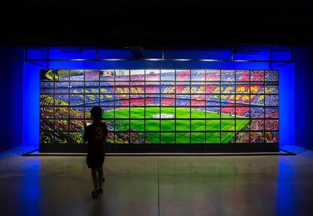 Visita ao Museu do Barcelona FC em Barcelona