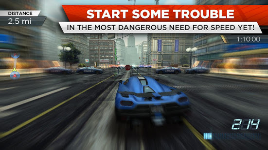 Need for Speed™ Most Wanted Mod Apk Android