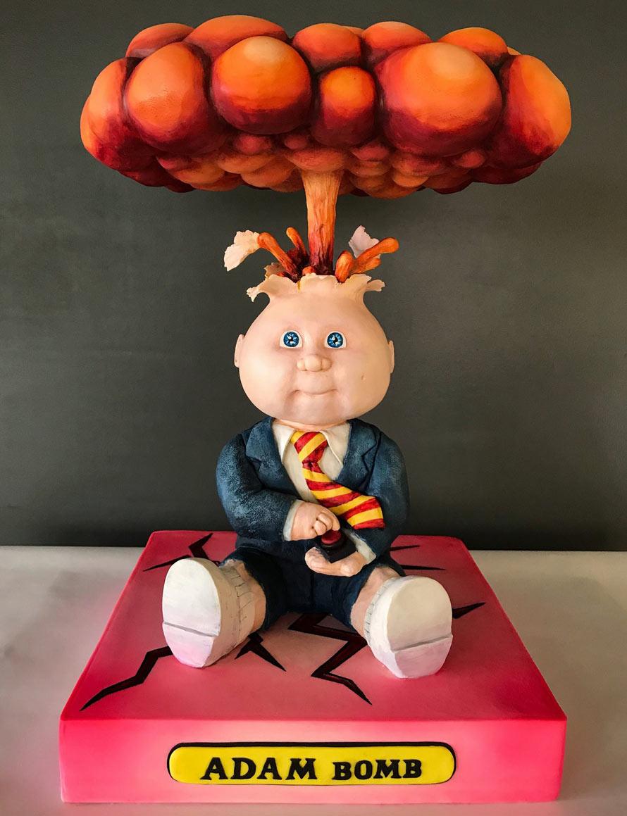 Der epische Garbage Pail Kids Cake aus den Sideserf Cake Studios