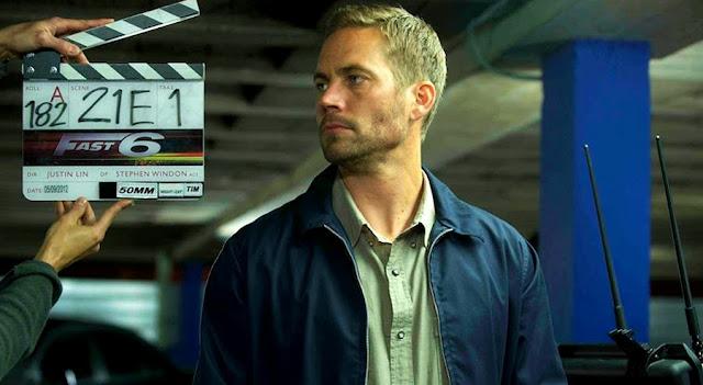 Paul Walker la filmările pentru Fast And Furious 6