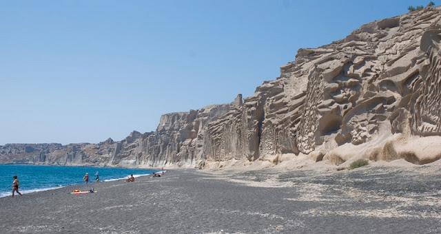 Praia Vlychada, Santorini