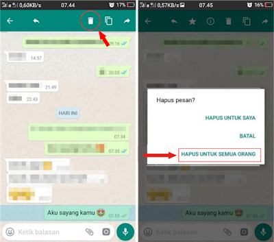 Tips Cara Membatalkan Pesan WhatsApp yang Sudah Terkirim