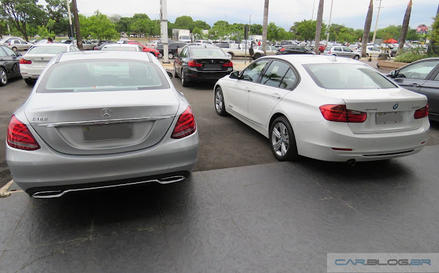 Mercedes-Benz C180 x BMW 320i - comparativo