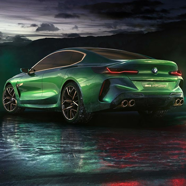 BMW M8 Gran Concept Coupe Wallpaper Engine