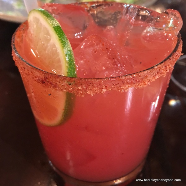 blood-orange margarita at The Cooperage in Lafayette, California