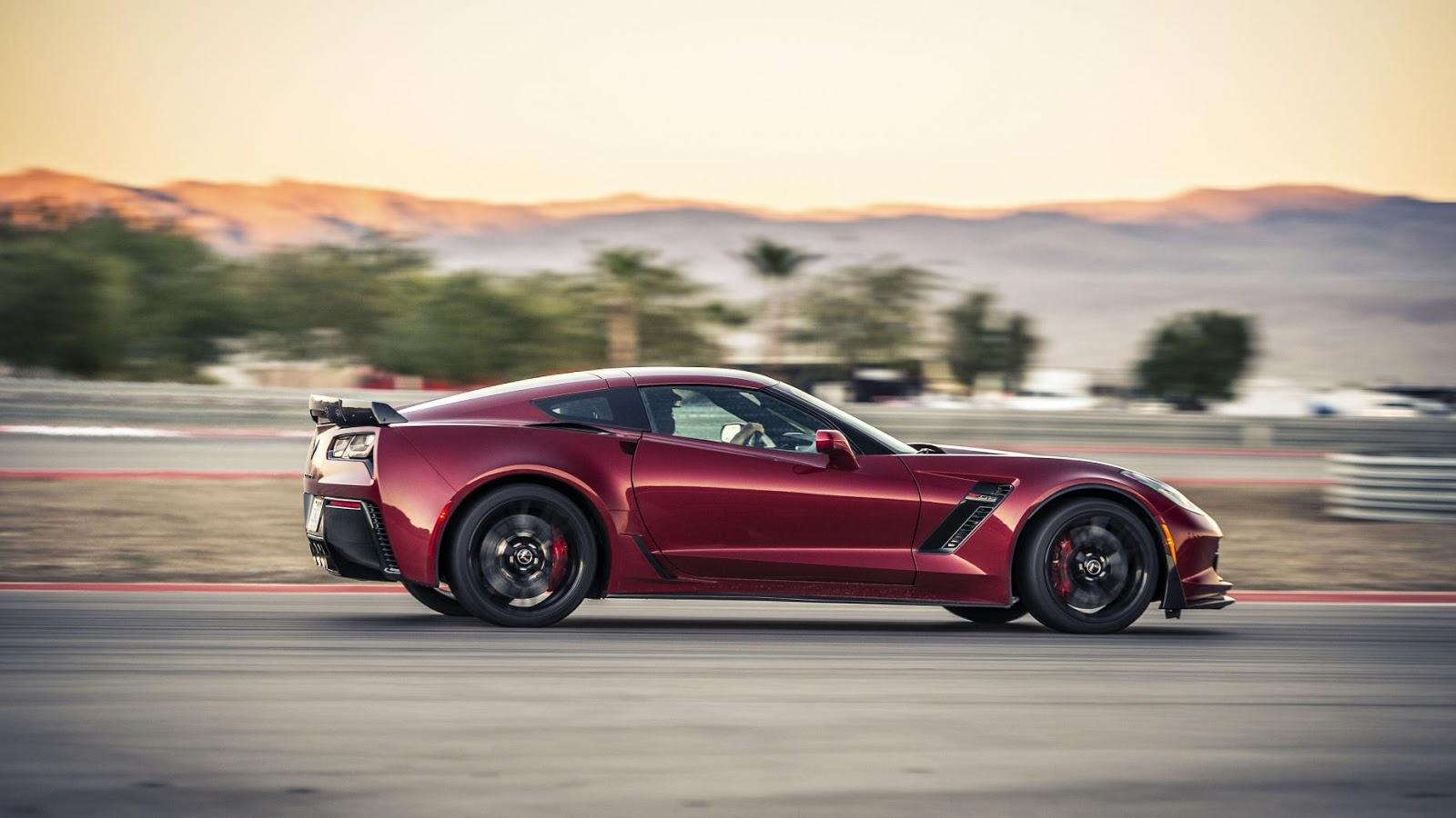 Chevrolet Corvette Z06 - tăng tốc từ 0 - 96 km/h trong 2.95secs