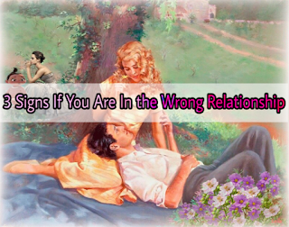The three signs that you will understand that you are in the wrong Relationship