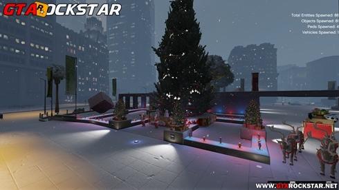 Merry Christmas (Mod Natal) para GTA V