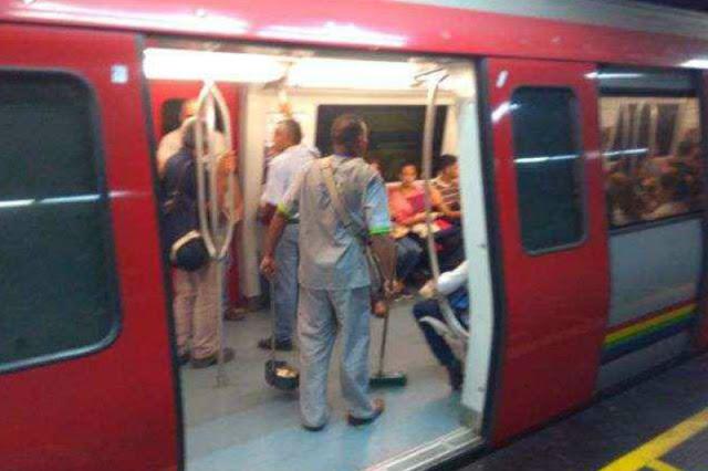 Anciano murió atrapado por la puerta de vagón del Metro de Caracas