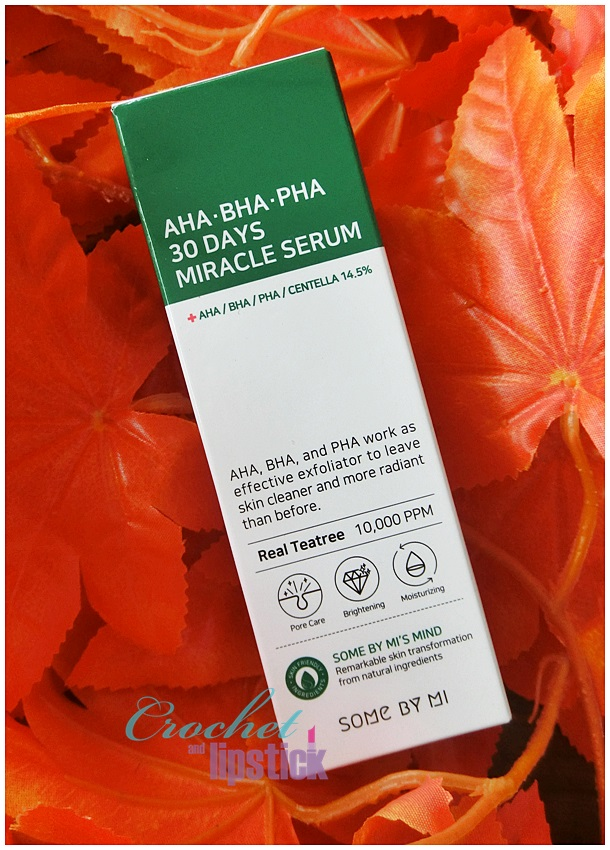 Some By Mi AHA BHA PHA 30 Days Miracle Serum Box