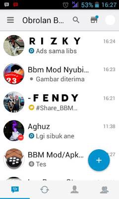 BBM Mod I-Phone versi Terbaru 2.13.1.14 Apk