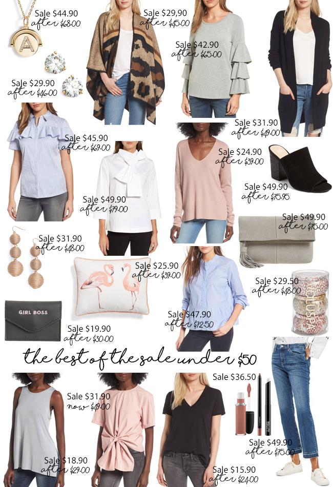 2017 nordstrom anniversary sale items under $50