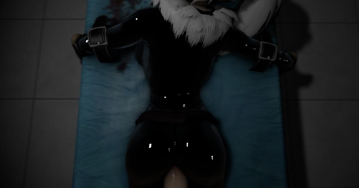 Porn black cat