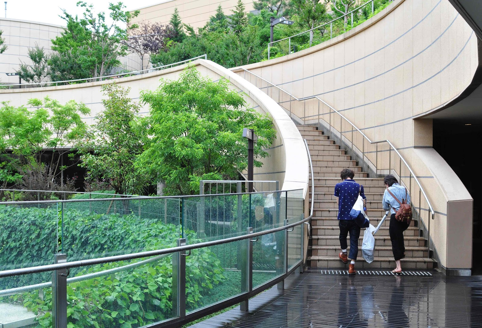 Namba Parks Landscape Gardens In Osaca Japan Most