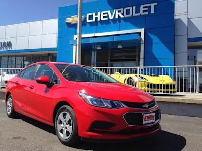 2017 Chevy Cruze at Emich Chevrolet in Lakewood Colorado