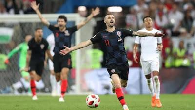 Highlight Kroasia 1-1 Inggris (ET. 2-1), 11 Juli 2018