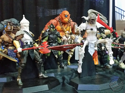 Toy Fair 2018: Four Horsemen Mythic Legions Action Figures