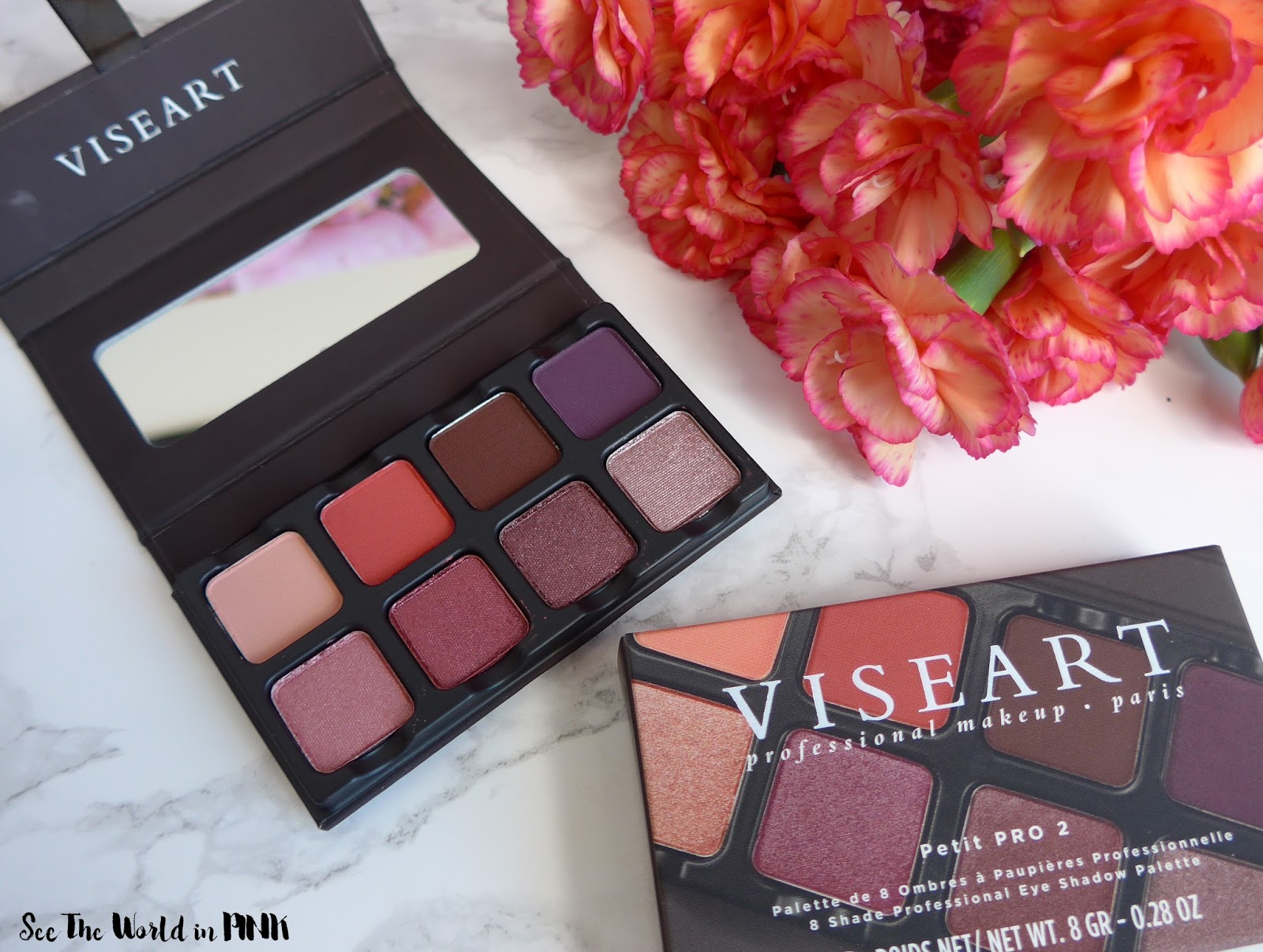 Viseart Makeup Palette Saubhaya 06 Paris Nudes Petit Pro 2 Eyeshadow Review Swatcheakeup Look