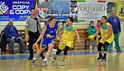 El CB Martos aniquila al CB Andújar en el derbi femenino de la Nacional en la que el CAB Linares acecha al líder