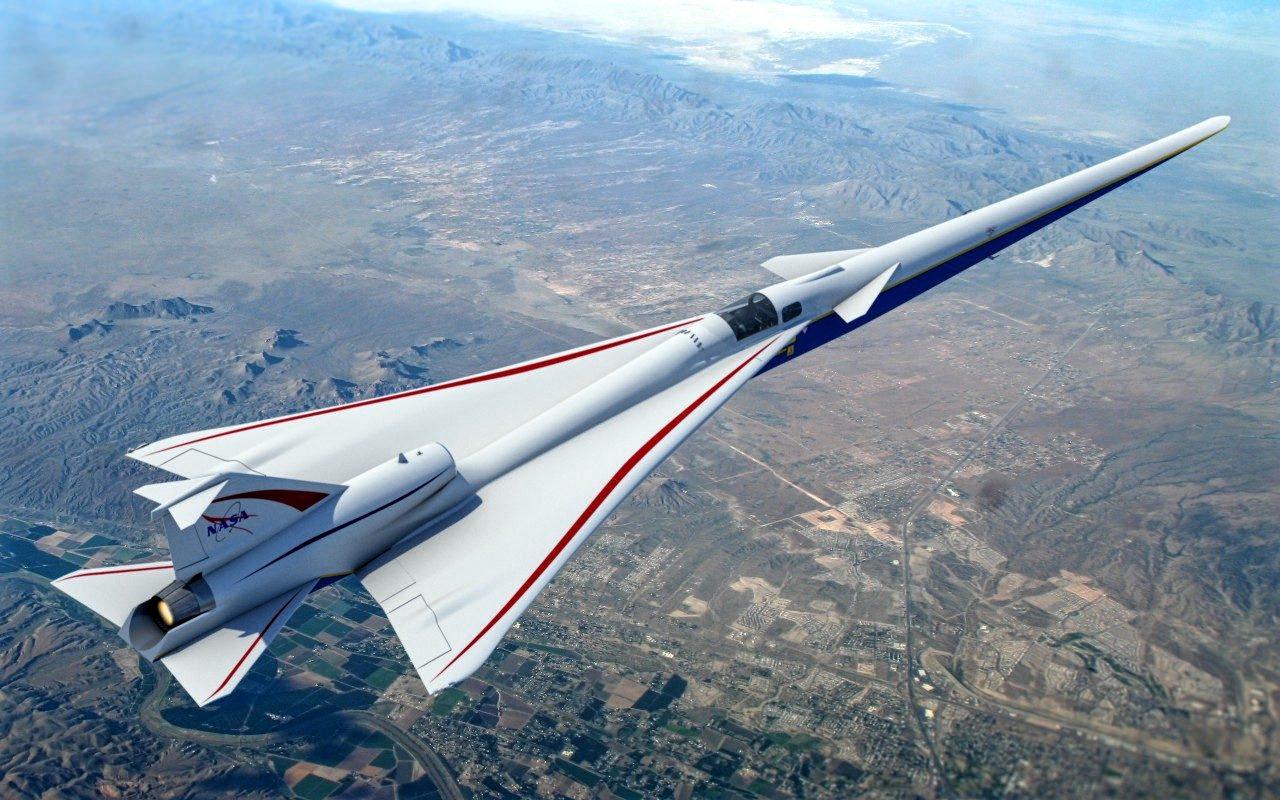 X-59 QueSST silent supersonic jet