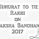Raksha Bandhan 2017 Date And Time