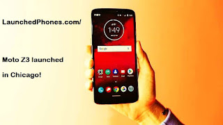 but nil is revealed for the launch appointment of  Moto Z3 2018 launched amongst the X50 Modem