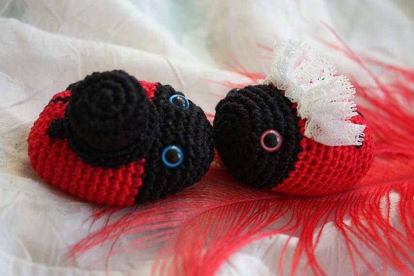 Ravelry: Ladybug (Colourful Crochet, Amigurumi) pattern by Havva ... | 570x855