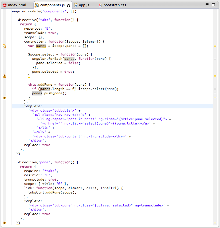 Dinis Cruz Blog: Using AngularJS in Eclipse, Part 4) Create