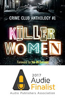Killer Women Crime Club Anthology Audie Finalist