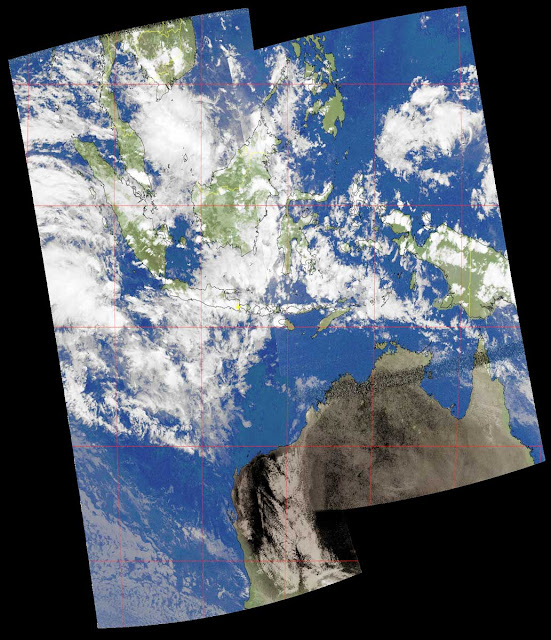 Composite Image from NOAA Satellites