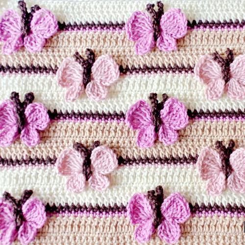 Crochet Butterfly Stitch