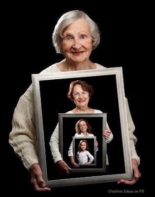 foto dari neneknya nenek sampai cucu