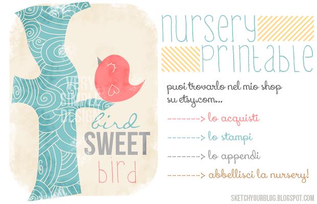 Printable per la cameretta del bebè