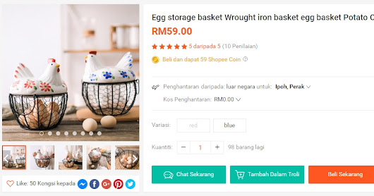 Egg Storage Basket | Shopee