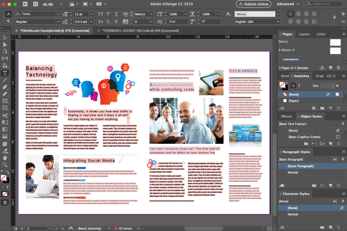 Adobe InDesign CC 2019 14 0 1 209 torrent download for PC