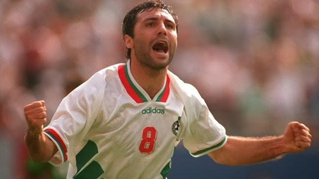 ... do Hristo Stoichkov