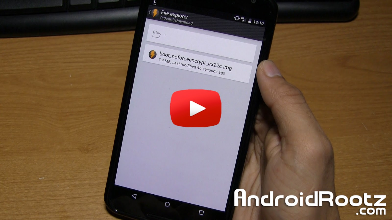 How to Disable Forced Encryption on Rooted Nexus 6