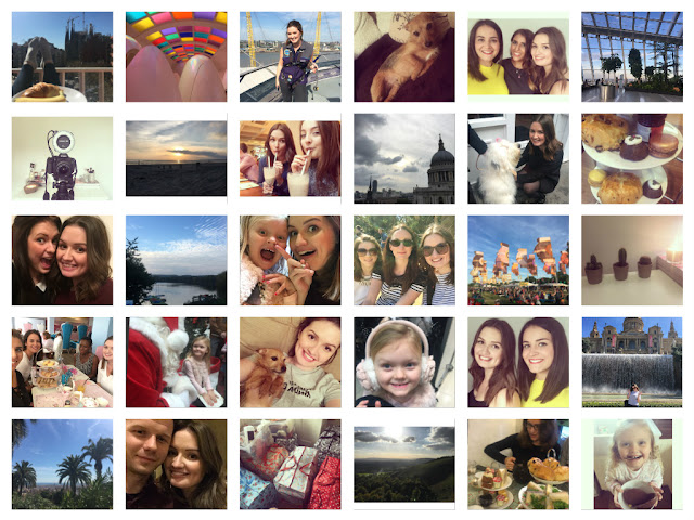 kirstie pickering collage 2015 reflection new year 2016 blog blogger bloggers thoughts bbloggers beauty personal makeup friends family love sky garden brighton 02 moving house barcelona youtube sketch london afternoon tea glastonbury cactus christmas surrey