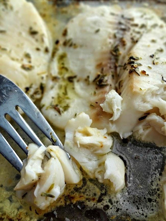 Baked Lemon-Thyme Tilapia