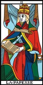 Significado da carta de taro A Sacerdotisa II
