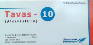Tavas 10mg Tablet for cholesterol