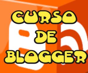 Banner Curso de Blogger !