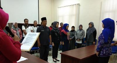 Pejabat Fungsional Inspektorat Pringsewu Dilantik