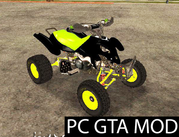 Free Download QUAD HONDA TRX-450  Mod for GTA San Andreas.